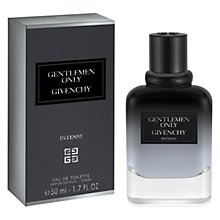 Buy Givenchy Gentleman Only Intense Eau de Toilette Online at johnlewis.com