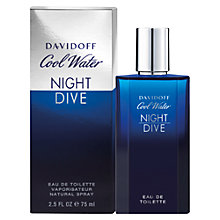 Buy Davidoff Cool Water Night Dive Eau de Toilette Online at johnlewis.com