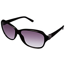 Buy Ted Baker TB1317 Sunglasses, Black Online at johnlewis.com