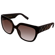 Buy Christian Dior MyDior 3N D28HD Sunglasses, Black Online at johnlewis.com