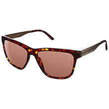 Buy Burberry 0BE4163 Brit Rhythm Square Sunglasses, Tortoise Online at johnlewis.com
