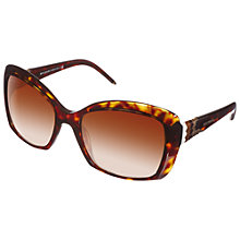 Buy Bvlgari 0BV8133 Hav 504/13 Square Sunglasses, Havana Brown Online at johnlewis.com