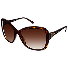 Buy Bvlgari 0BV8135B 504/13 Sunglasses, Havana Brown Online at johnlewis.com