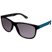 Buy Ted Baker TB1303 Rectangular Sunglasses, Black Online at johnlewis.com