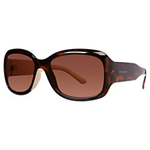 Buy Ted Baker TB1183 Square Sunglasses, Tortoise Brown Online at johnlewis.com
