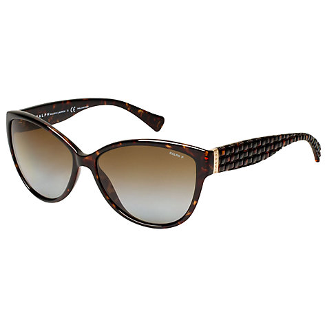 Buy Ralph RA5176 Polarised Cat's Eye Sunglasses Online at johnlewis.com