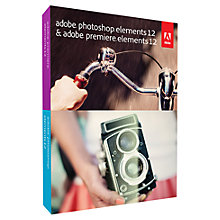 Buy Adobe Photoshop and Premiere Elements 12, Photo and Video Editing Software Online at johnlewis.com