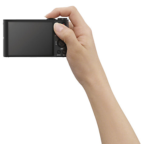 Buy Sony Cyber-shot DSC-WX350 Camera, HD 1080p, 18.2MP, 20x Optical Zoom, Wi-Fi, NFC, 3 Screen with 8GB Card & Case Online at johnlewis.com