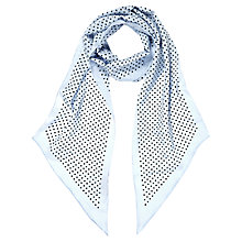 Buy Hobbs Skinny Spot Scarf Online at johnlewis.com