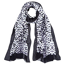 Buy Hobbs Snake Scarf, Navy Multi Online at johnlewis.com
