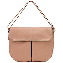 Buy Whistles Duffy Zip Leather Satchel Handbag Online at johnlewis.com