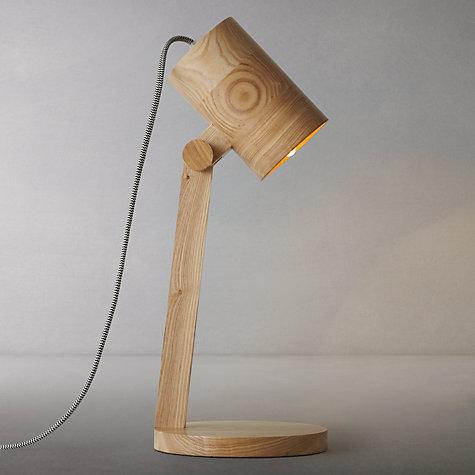 Buy John Lewis Frankie Oak Task Lamp