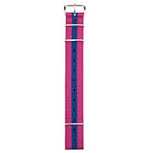 Buy Smart Turnout Striped Watch Strap Online at johnlewis.com