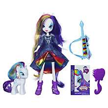 Buy My Little Pony Equestria Girls Rainbow Rocks Rarity Doll Online at johnlewis.com