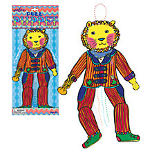 Buy Eeboo Lion Pull Puppet Online at johnlewis.com
