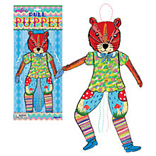 Buy Eeboo Chipmunk Pull Puppet Online at johnlewis.com