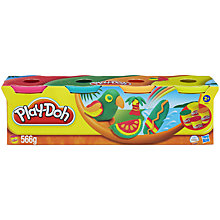 Buy Play-Doh Tropical Colours, Pack of 4 Online at johnlewis.com