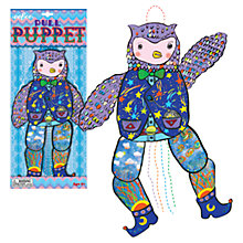 Buy Eeboo Owl Pull Puppet Online at johnlewis.com