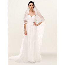 Buy Phase Eight Fleur Lace Veil, Ivory Online at johnlewis.com