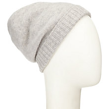 Buy John Lewis Cashmere Beanie Hat, One Size Online at johnlewis.com
