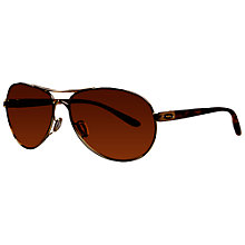 Buy Oakley 004079-04 Feedback™ Aviator Metal Frame Sunglasses Online at johnlewis.com