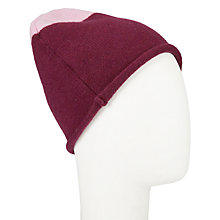 Buy John Lewis Cashmere Colour Block Beanie Hat Online at johnlewis.com