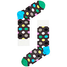Buy Happy Socks Spotted Ankle Socks, Grey Multi Online at johnlewis.com