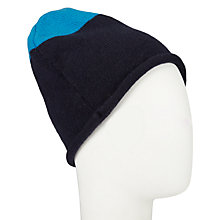 Buy John Lewis Cashmere Colour Block Beanie Hat, One Size Online at johnlewis.com