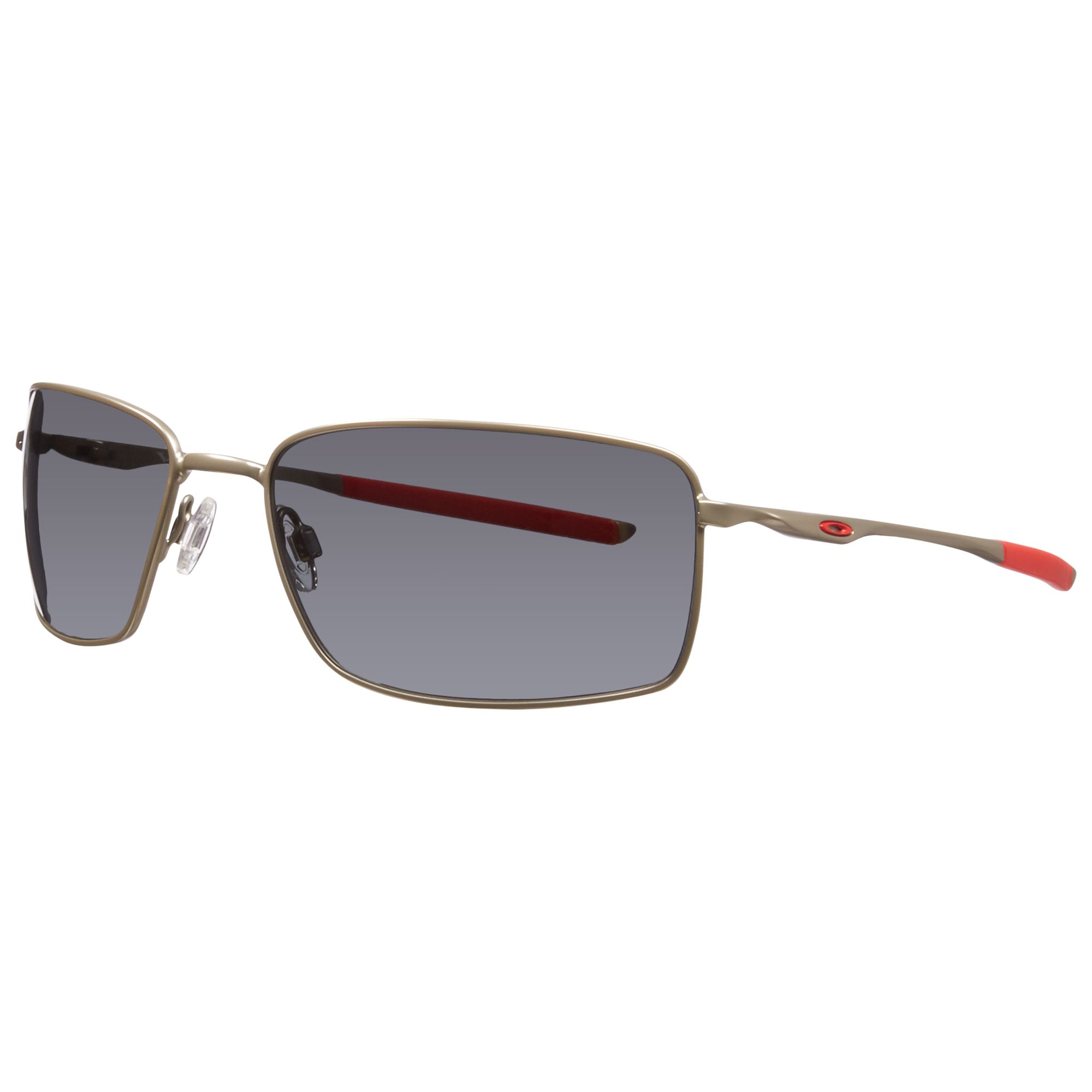 Buy Oakley 004075 Plaintiff Squared Metal Frame Polarised ...