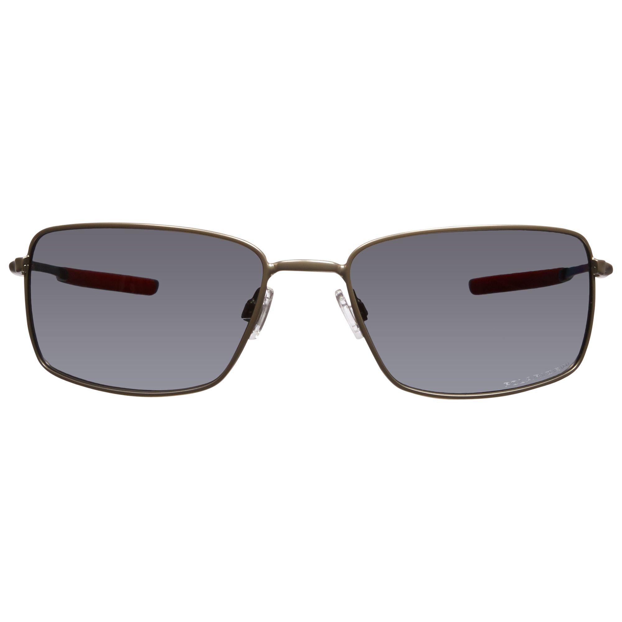 Oakley Metal Frame Glasses : Buy Oakley 004075 Plaintiff Squared Metal Frame Polarised ...