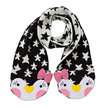 Buy John Lewis Novelty Penguin Scarf Online at johnlewis.com