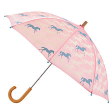 Buy Hatley Horse Umbrella, Pink Online at johnlewis.com