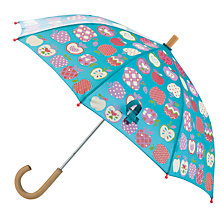 Buy Hatley Apple Umbrella, Turquoise Online at johnlewis.com
