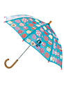 Hatley Apple Umbrella, Turquoise