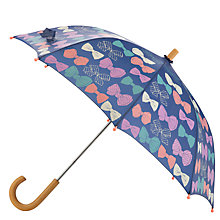 Buy Hatley Bow Umbrella, Navy Online at johnlewis.com