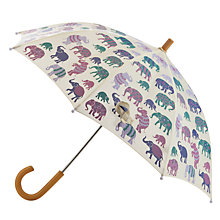 Buy Hatley Elephants Umbrella, Cream Online at johnlewis.com