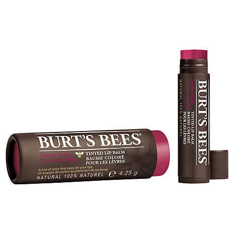Buy Burt's Bees® Tinted Lip Balm, 4.25g Online at johnlewis.com