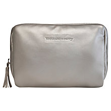 Buy Tender Love & Carry Square Make Me Up Bag, Silver Online at johnlewis.com