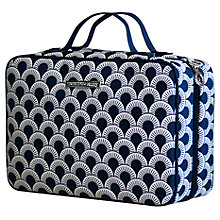 Buy Tender Love & Carry Nautical Sun Hanging Washbag, Navy / White Online at johnlewis.com