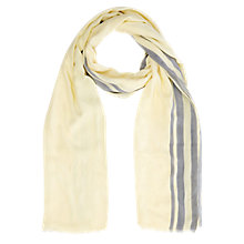 Buy Windsmoor Limoncello Scarf, Light Yellow Online at johnlewis.com
