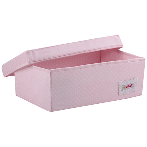 Buy Minene Small Spot Box, Pink Online at johnlewis.com