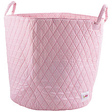 Buy Minene Dot Basket, Pink Online at johnlewis.com
