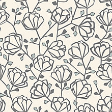 Buy John Lewis Heidi Wallpaper, Mineral Online at johnlewis.com