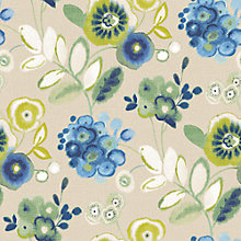 Buy John Lewis Carlotta Wallpaper, Blue Online at johnlewis.com