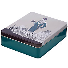 Buy John Lewis 1920s Ladies Print Storage Tin Online at johnlewis.com