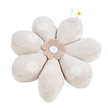 Buy John Lewis Spot Flower Pin Cushion Online at johnlewis.com