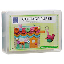 Buy Paper and String Sew Your Own Cottage Purse Kit Online at johnlewis.com