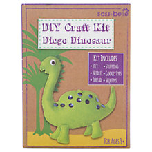 Buy DIY Diego Dinosaur Craft Kit, Green Online at johnlewis.com