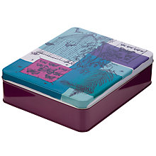 Buy John Lewis Raymond Lowey Bird Print Storage Tin, Multi Online at johnlewis.com