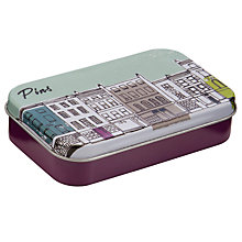 Buy John Lewis Building Print Mini Pins Tin Online at johnlewis.com